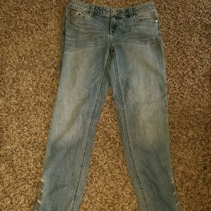 White House Black Market Women's Size 2 Blue Jeans